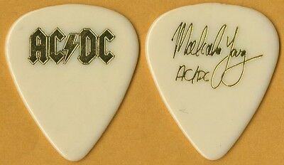 AC/DC authentic Malcolm Young 1991 Razors Edge tour official band GUITAR PICK