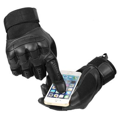 New Touch Screen Military Tactical Outdoor Hard Knuckle Full Finger Gloves