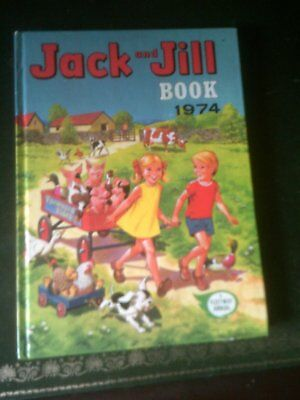 JACK  AND JILL BOOK 1974, Published 1973,  Vintage Children's Annual