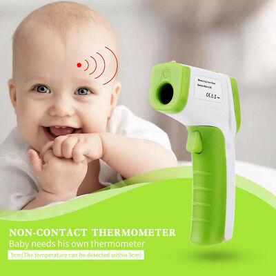 Digital IR Infrared Thermometer Baby Body LCD Non-Contact Laser Temperature Gun