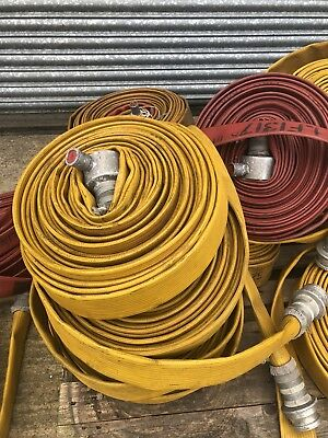 Ex fire brigade 52mm fire hose firefighting duraline viking flood pumping