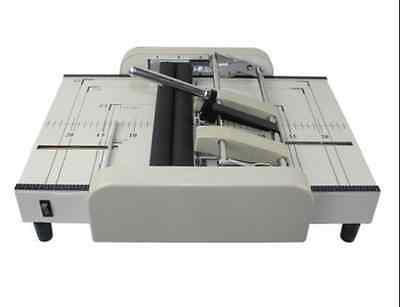 A3 Booklet Making Machine Paper Bookbinding and Folding Booklet Stapling 220V uk