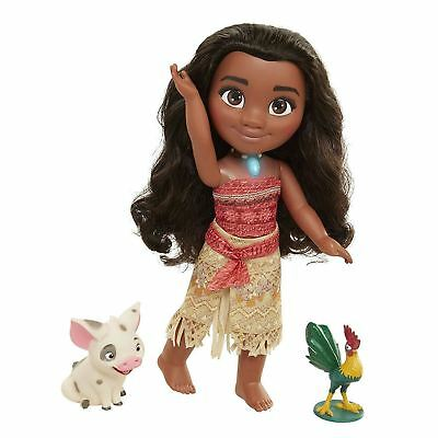 Disney Princess Moana Toddler Singing & Friends Doll Girls Toy 14''