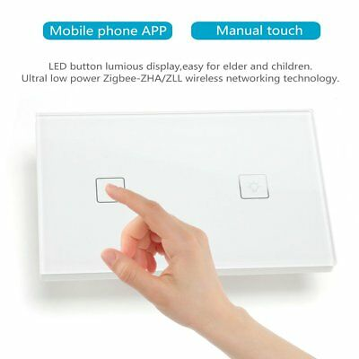 Remote Control Wall Switch For LED Downlight Dimmer ZigBee Light Smart Phone AUS