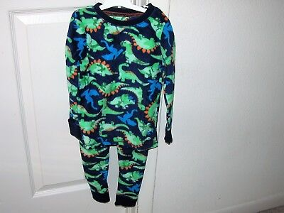 Climate Right by Cuddl Duds Toddler Boys' (2) Pc. Long Sleeve Crew Set New/2T/3T