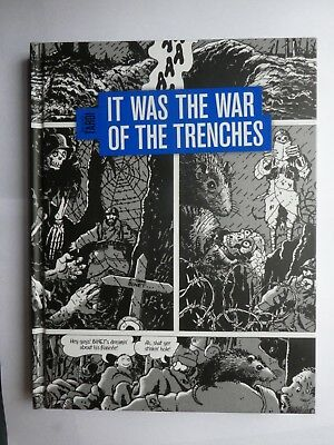Jacques Tardi It was the War of the Trenches Graphic Novel Hardback VGC OOP