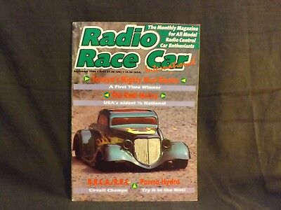Radio Race Car International Magazine September 1989. Tamiya Mud Blaster.