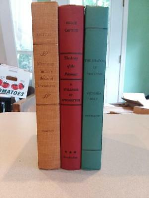 3 Doubleday and Norton Vintage Hardcover Books for Instant Vintage Collection