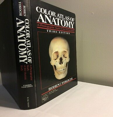 THE COLOR ATLAS of Human anatomy+laminated nursing quick study ...