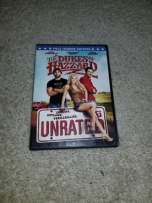 The Dukes of Hazzard (DVD, 2005, Unrated, Fullscreen Edition)