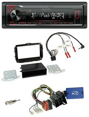 Kenwood Lenkrad MP3 Bluetooth USB Autoradio für Alfa Romeo Giulietta 13-14 piano