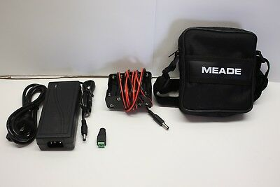 10AA Telescope Battery Pack & 5 Amp AC Adapter Kit for Meade ETX & DS Scopes