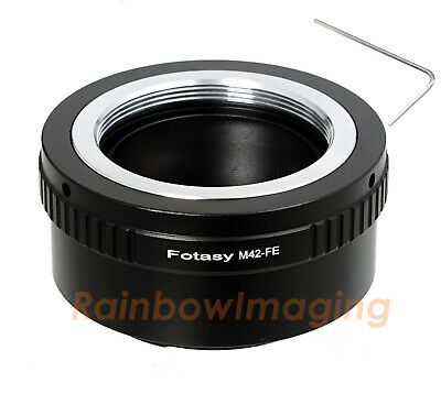 Copper Adjustable 42mm M42 lens to Sony E-Mount NEX-7 NEX-5R NEX-5T adapter