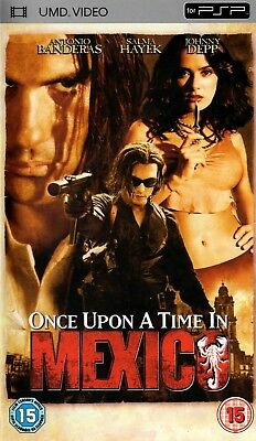 Once Upon A Time In Mexico (UMD Mini for PSP) - Free Postage - UK Seller