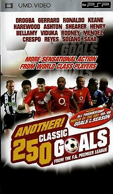 Another 250 Classic Goals (UMD Mini for PSP) - Free Postage - UK Seller