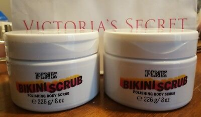 Secret Scrub Pink Salt Victoria Vs Bikini Polishing 2 8 Oz New Sea Body Ybf6gyv7