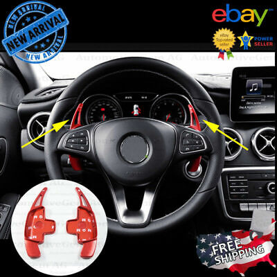 Steering Wheel Gear Paddle Shifter Extension for Mercedes CLA GLA C GLC E GLE