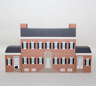 "1997 Faline Cat's Meow Civil War Collection ""CHATHAM"" Shelf Sitter Signed"