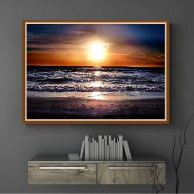 AU Sun Full Drill DIY 5D Diamond Painting Embroidery Cross Stitch Home Decor HN