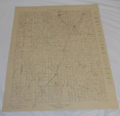 1901 Topographic Map ATOKA QUADRANGLE, INDIAN TERRITORY/CHOCTAW/CHICKASAW NATION