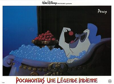Pocahontas movie poster print (C) - Disney - 12 x 16 inches French style - Percy