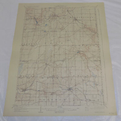 1907 Topographic Map of GARRETTSVILLE QUADRANGLE, OH, GEAUGA, PORTAGE COUNTY