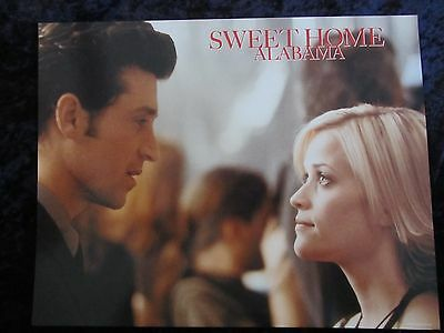 SWEET HOME ALABAMA lobby card # 8 -  REESE WITHERSPOON, PATRICK DEMPSEY