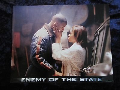Enemy Of The State lobby card # 2 -  Will Smith