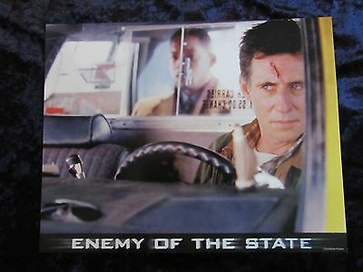 ENEMY OF THE STATE lobby card # 6 -  WILL SMITH poster,  GABRIEL BYRNE