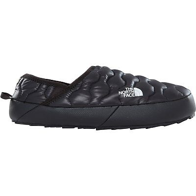 North Face Thermoball Traction Mule Iv Mens Footwear Slipper - Shiny Tnf Black