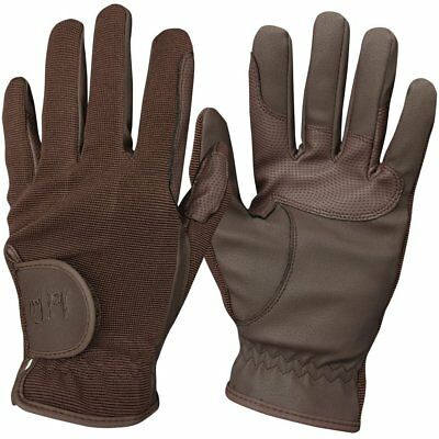 Mark Todd Childs Super Kids Gloves Everyday Riding Glove - Brown All Sizes