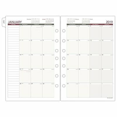 At-A-Glance Day Runner Monthly Planner Refill, January 2019 - December 2019, 5-1