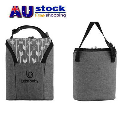 AU Baby Bottle Warmer/Cooler Thermal Insulated Carrier Pouch Bag Feeding Milk