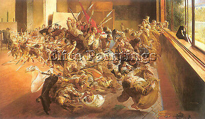 Malczewski6 Artist Painting Reproduction Handmade Oil Canvas Repro Wall Art Deco