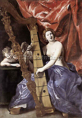 Lanfranco Giovanni Allegory Of Music Artist Painting Reproduction Handmade Oil
