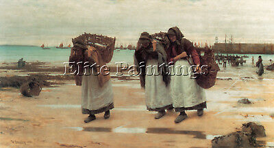 Langley Walter The Breadwinners1 Artist Painting Oil Canvas Repro Wall Art Deco