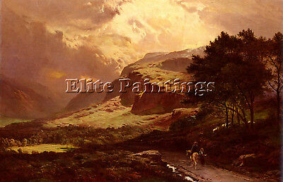 Percy Sidney Richard Langdale Westmorland Artist Painting Oil Canvas Repro Art