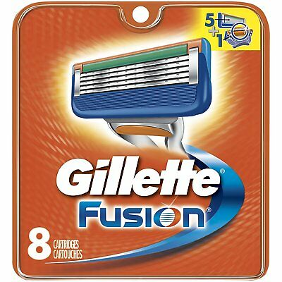 Gillette Fusion Razor Blades xl [8 pack] - BRAND NEW, SEALED,