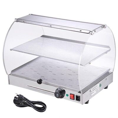 Commercial Countertop Food Warmers Food HoldingCounter-top Heated Display Case