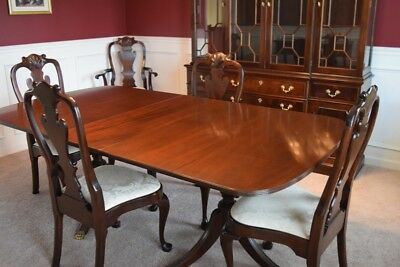 Stickley Classic Mahogany 11 Piece Dining Room Set Just Gorgeous