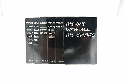 The One With All The Cards - Friends Cards Against Humanity - Against Friends