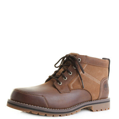 a97970eac0d MENS TIMBERLAND LARCHMONT Chukka Brown Lace Up Ankle Boots Size