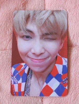 """BTS LOVE YOURSELF 結 'Answer' """"S"""" Ver. RM Official Photocard"""