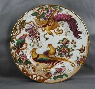 """Royal Crown Derby Olde Avesbury Ely/Chelsea 8 3/8"""" Salad Plate Sold Individually"""