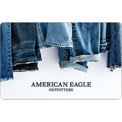 American Eagle Gift Card $100 Value, Only $93.00! Free Shipping!