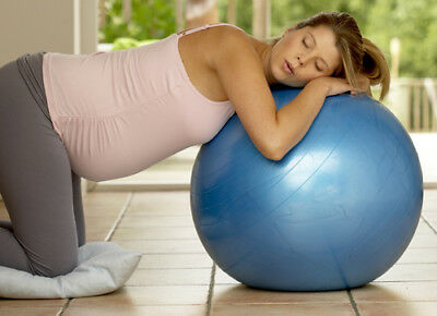 Pregnancy Birthing Ball - Yoga ball - Exercise Ball 75 cm with Pump