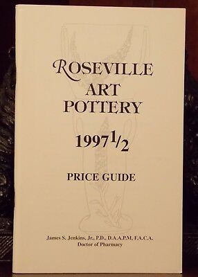 """Roseville Art Pottery 1997 1/2"" Price Guide Descriptions Production Dates More"