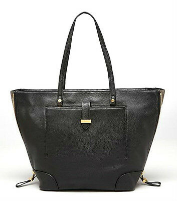 b08c16734ae0 NEW  475 TORY Burch East-West Stacked-T Logo Tote Bag Pebbled ...
