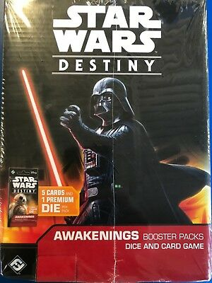 Star Wars Destiny - Awakening Booster Box Factory Sealed Brand New 36ct FFG