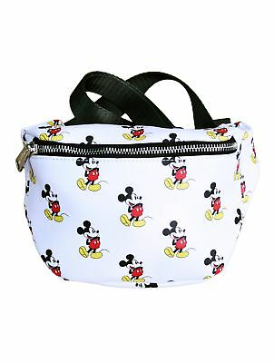 NEW Authentic Loungefly Disney Classic Vintage Mickey Mouse Print Fanny Pack